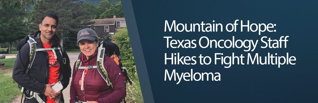 Mountain of Hope: Texas Oncology Staff Hikes to Fight