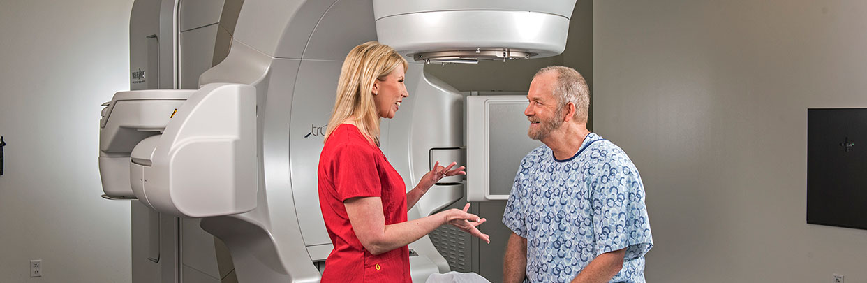 Radiation Therapy Man